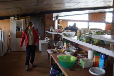 préparation du repas , merci Anne Christine