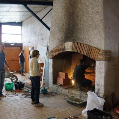 réfection de la cheminée