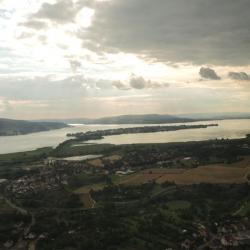 En approche sur EDTZ, vue sur Reichenau
