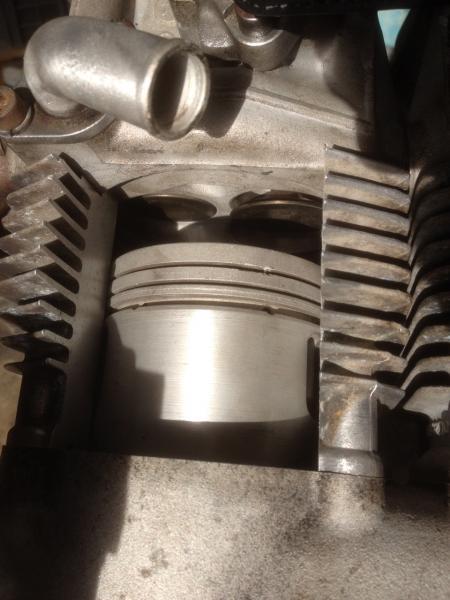 Piston dans cylindre